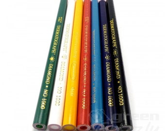 China Marker Chinagraph grease wax Pencil non toxic glass metal wood leather, AVV
