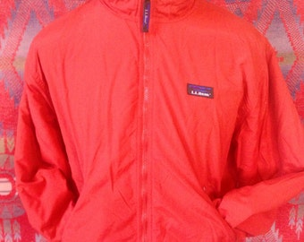 Vintage LL Bean Warm up jacket USA Mens M
