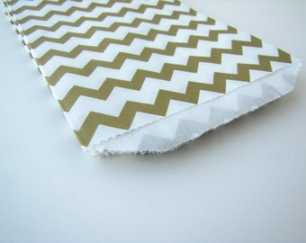 Gold paper bags gold chevron bags Gold favour bags gold treat bag gold birthday party