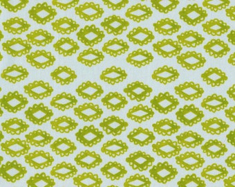 Mesa Woodblock in Leaf, Alexia Abegg, Cotton+Steel, RJR Fabrics, 100% Cotton Fabric, 4011-1