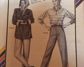 Stretch and Sew  Pull-on and Stirrup Pants