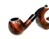 Tobacco pipe Smoking pipe Wooden pipe Hand carved tobacco pipes Smoking pipes Wood pipes Vintage Wood pipe Carved wood Wooden pipes 202 NEW