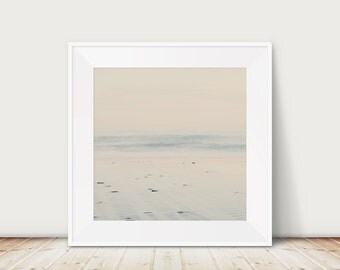 beach photograph ocean photograph nature photography cream home decor beach house decor coastal print beach print ocean wave print