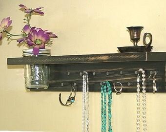 Jewelry Holder Storage Organization Hanging Shelf  Headband