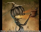 The Gourd of Deprivation -  4oz Room Spray: Black Phoenix Trading Post