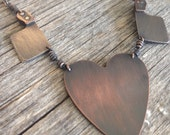 Heart and Cleaver Necklace