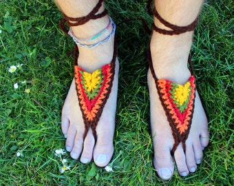 Barefoot Sandals - Autumn - Earthing Grounding Sandals