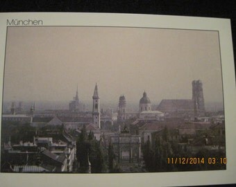 "Vintage ""City Collection"" Munchen/Munich Germany Post Card...#106 in series...unknown age"