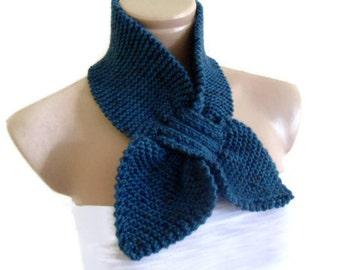 Cerulean, neckwarmer, scarf, Headband, knitting, Holiday , Accessories, valentines day, gift