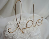 I Do Cake Topper,  Pick Your Color