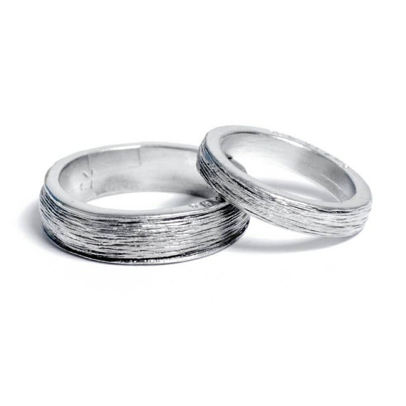 10 Year Wedding Anniversary Tin Gifts: 10th Year Wedding Anniversary Tin Rings For Him And Her