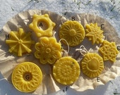 Natural Beeswax Ornament  local beeswax