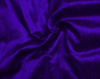 Wholesale fabric 10 yards of 100% pure dupioni silk in indigo/bargain deal/discounted silk dupioni