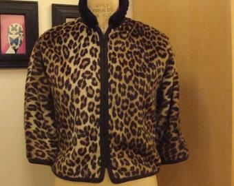 Leopard jacket 1970s