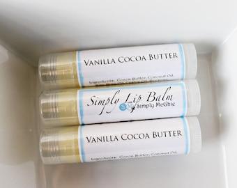 Vanilla Cocoa Butter Lip Balm