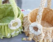 Sweetwater ruffled basket sewing pattern