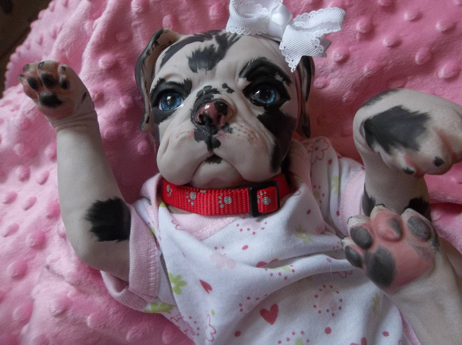 Custom Made To Order Reborn Puppy Dog Art Doll Vinyl Princess