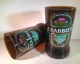 Crabbie's Ginger Beer Recycled Glasses - Set of 2