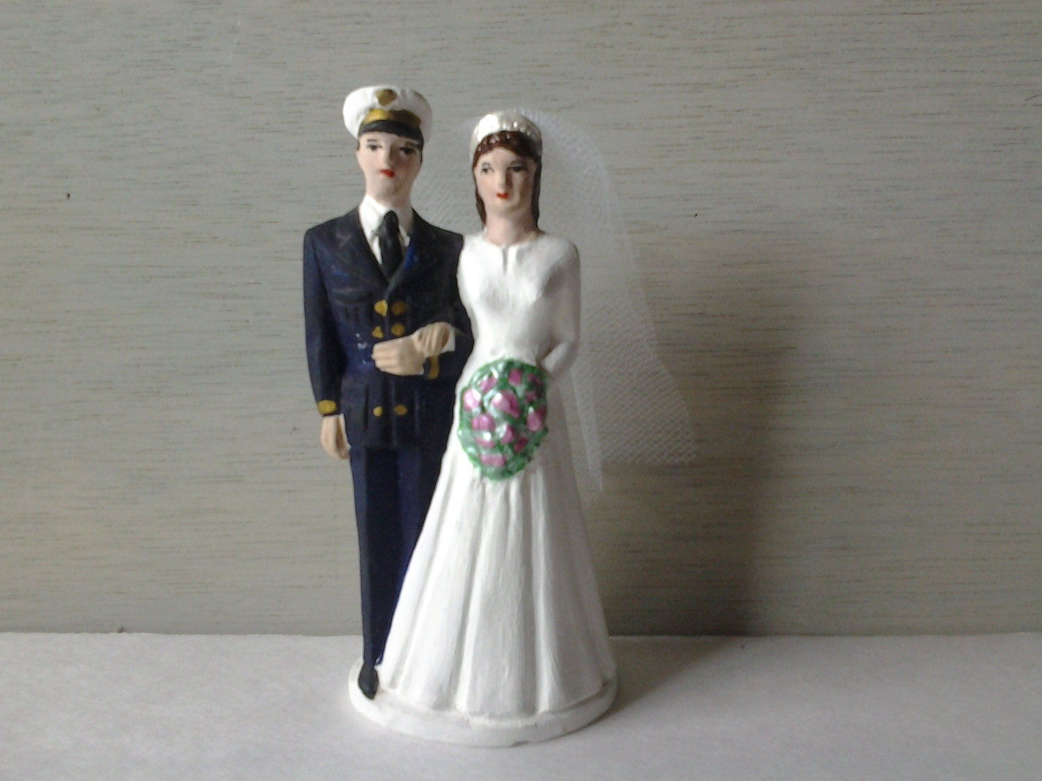 us navy wedding cake toppers vintage wedding cake topper us naval by noneedfornew 21518