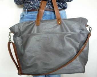 Waxed canvas weekend bag / weekender / duffle bag UNISEX