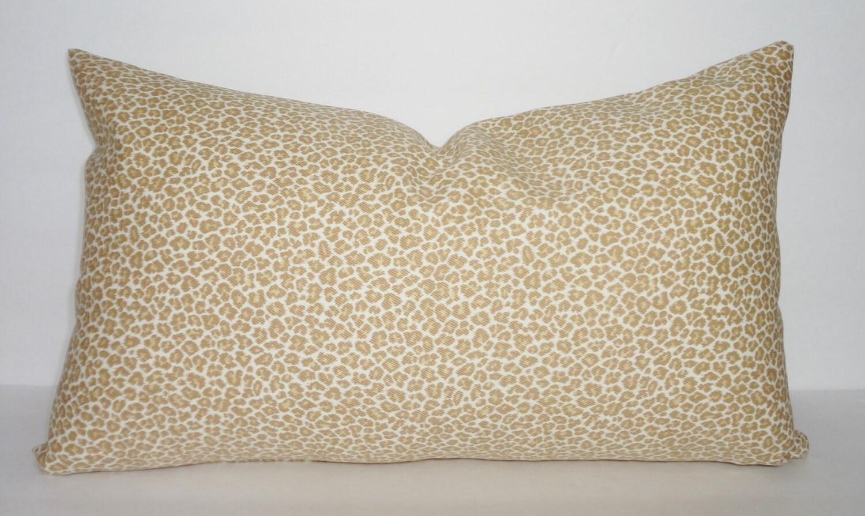 Animal Print Lumbar Pillows : Item Details