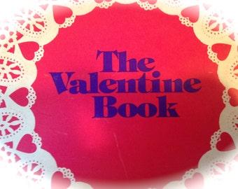 RARE Vintage Valentine Book -  Vintage Valentines, Vintage Paper Ephemera, Vintage Zine - Scholastic Book Service, Scholastic Magazine, 1977