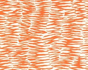 Trina Turk Zebra Print Orange, Outdoor Pillow, Orange, Geometric, Animal, Abstract, Outside Decor, Designer, Modern, summer, Pool, white