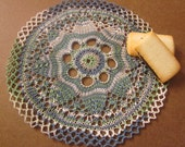 Handmade Cotton Cloth Doily, Vegan Cottage-Chic Home Décor