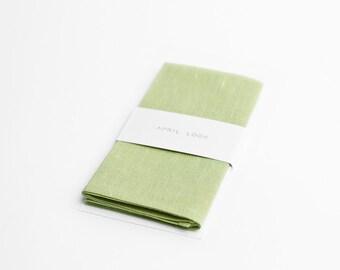 Pocket square, dusty mint green