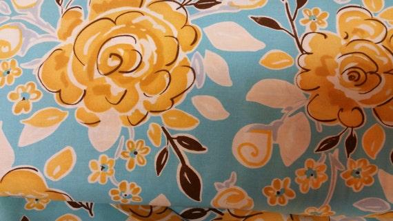 Sale stripe print by dena designs from tea garden for Dena designs tea garden fabric