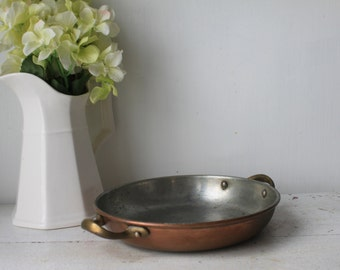 Vintage Copper Dish