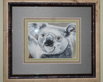 Original Koala Watercolor Painting