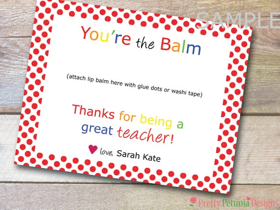 Refreshing image within you're the balm printable