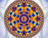 Shakti - Banner Tapestry Mandala - Healing, Meditation, Yoga, Spiritual, Energy, Chakras, Sacred Space Inspiration, Decoration Zen