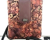 SALE ITEM/ Batik Fabric Pouch / Camera Case / Small Tote/ Ready to Ship