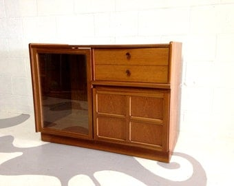 teak cabinet shelves  by Nathan from England