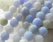 48 AGATE Gemstone Beads 8mm - COD2321