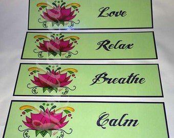 Mint Lotus Bookmarks