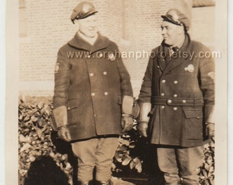 Vintage/Antique beautiful photo of two cops in uniform