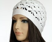 Winter Cap PDF, Women's Crochet Hat Tutorial, Instant Pattern Downloads