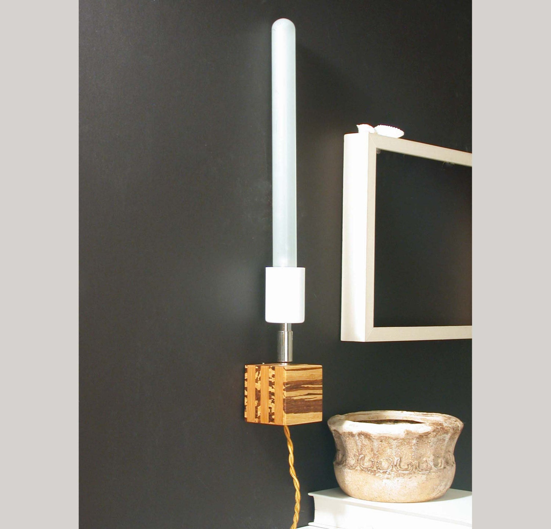 Mur applique bambou lampe murale moderne par dldesignworks for Lampe chevet murale