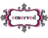 Reserved - Custom listing for Erin