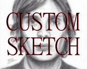 Custom Sketch - Size A5