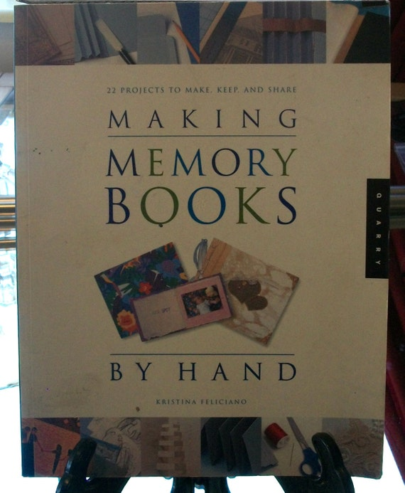 How To Make A Book By Hand ~ Making memory books by hand from nancytreasures on etsy studio