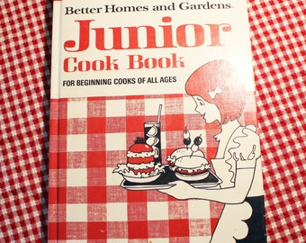 Better Homes and Garden Junior Cookbook 1972