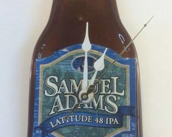 Sam Adams beer bottle clock