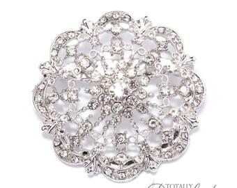 90 pcs Wholesale Brooch Embellishments Bouquet, Invitations Clip Wedding Cake Brooch Wedding Pin Broach Bridal Bouquet, Brooch 412-S