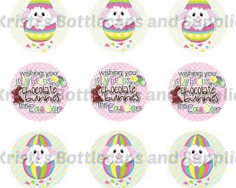 Easter Bottlecap Digital Download