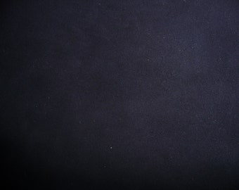 "Suede Leather 10""x24"" 12""x20"" or 15""x15"" Dark Navy Blue Garment Cowhide fairly thick at  4oz / 1.6mm PeggySueAlso"