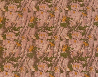 """Suede Leather #111 CLOSEOUT 12""""x12"""" PINK Camouflage CAMO Cowhide Leather 3.75 oz / 1.5 mm - PeggySueAlso"""